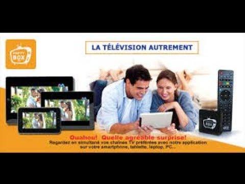 HAPPY BOX TV le décodeur télé pour toutes vos chaînes préférées y compris PactoleTV