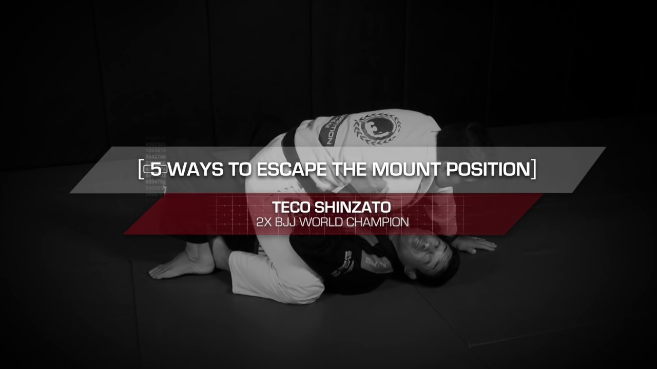 BJJ: 5 Basic Escapes From The Mount In Brazilian Jiu-Jitsu | Evolve University