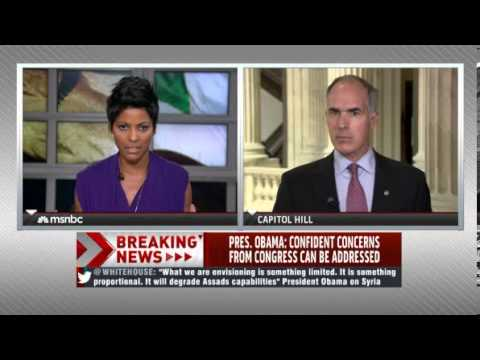 Senator Casey Speaks with Tamron Hall on MSNBC About the Situation in Syria