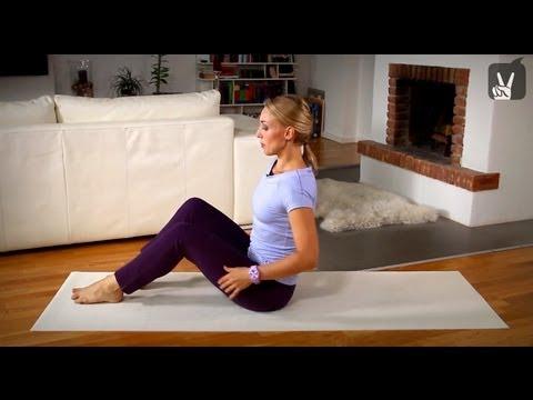 Pilates Mittelstufe Bauch Vollprogramm – 20 Minuten