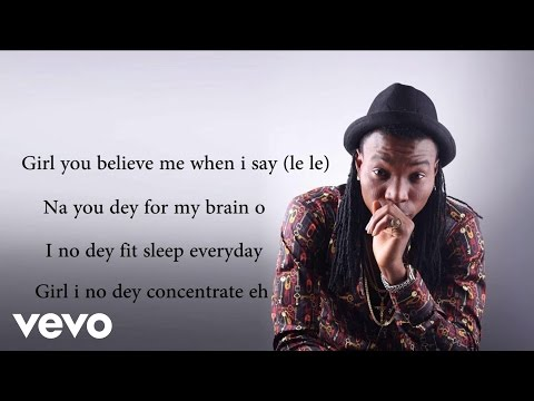 Solidstar - Oluchi Lyric Video ft. Flavour