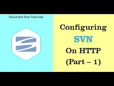 Svn configuration on http (Part 1) - Cloud and Tech Tutorials