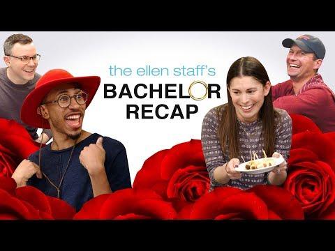 The Ellen Staff's 'Bachelor' Recap: Hometowns with Kalen! (видео)