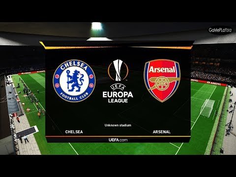 UEFA Europa League Final - Chelsea Vs Arsenal - PES 2019