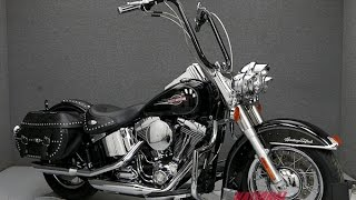 4. 2008 HARLEY DAVIDSON FLSTC HERITAGE SOFTAIL CLASSIC - National Powersports Distributors