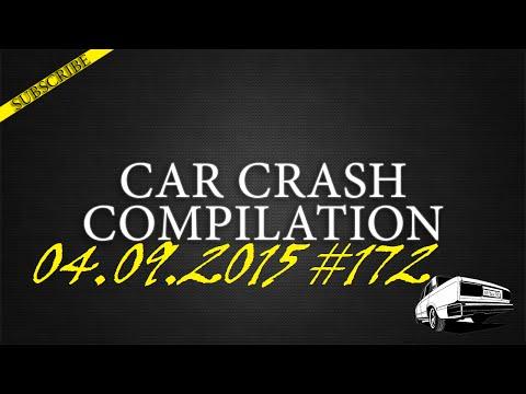 Car crash compilation #172 | Подборка аварий 04.09.2015