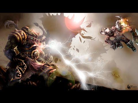 Warlords of Draenor - Битва Тралла и Гарроша