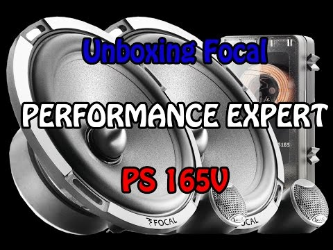 Unboxing Focal PS 165V - Made in France - Italiano