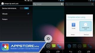 [Android App] Hướng dẫn mở khóa nhanh không cần Root bằng Swipe up and lock taptaplock, tin công nghệ, công nghệ mới
