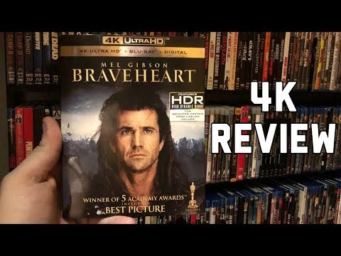 Braveheart 4K UltraHD Blu-ray Review | Dolby Vision | Dolby Atmos