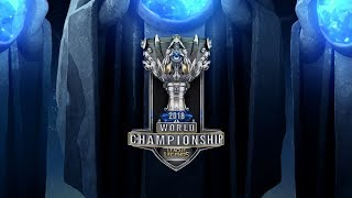 2018 World Championship Draw Show