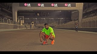 Jogging at Yas Marina circuit at Yastrain in Abudhabi.Big thanks to my brother Hazzaa for filming and editingMy social media:Instagram: @ameri-dude Snapchat: ameridudeHazzaa's instagram/twitter : @lehazzaa Thanks for watching.