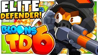 ELITE DEFENDER SNIPER TIER 5 UPGRADE - BLOONS TOWER DEFENSE 6 (BLOONS TD 6)
