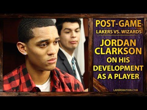 Video: Lakers Rookie Jordan Clarkson On His Development