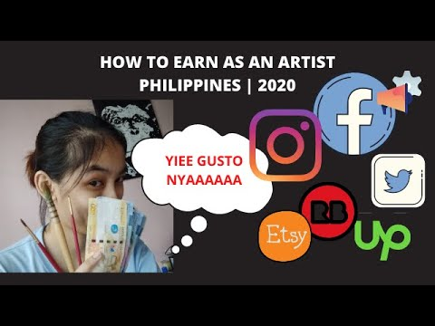 HOW TO EARN AS AN ARTIST | PHILIPPINES 2020 | ART COMMISSIONS