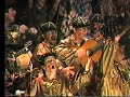 """Comparsa Esto es Carnaval. Letra y música: Antonio Martínez Ares. Dirección: Manuel Martín García """"El Gitano"""". Cuarto premio. Pobl"""