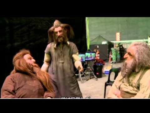 the hobbit - Here comes some more behind the scene footage of, this time three brothers in the line of Durin, Dori, Nori and Ori! Sorry about the chinese text once again ...
