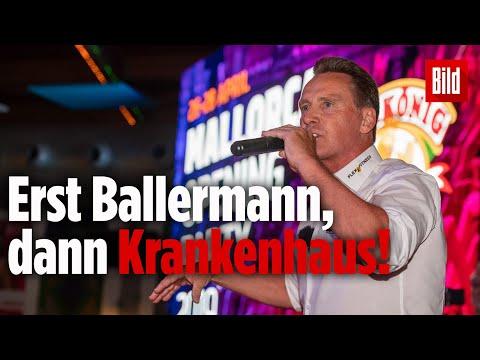 Party-Sänger Jürgen Milski hat Unfall bei Auftritt am Ballermann und muss ins Krankenhaus