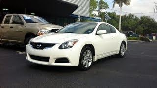 Autoline Preowned 2011 Nissan Altima 2.5 S For Sale Used Walk Around Review Test Drive Jacksonville