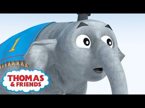 Thomas the Elephant | Cartoon Compilation | Magical Birthday Wishes | Thomas & Friends™