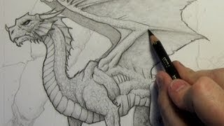how to draw a dragon for 10 year olds