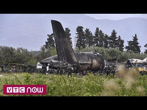 Algeria tổ chức Quốc tang cho nạn nhân vụ rơi máy bay | VTC1 - Thời lượng: 40 giây.