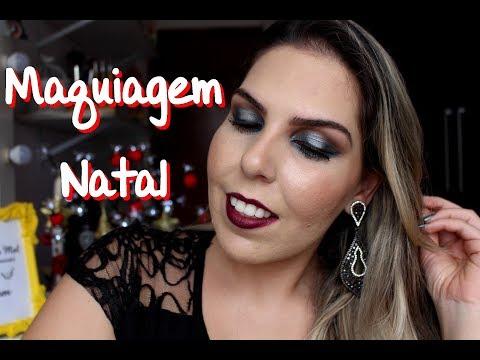Maquiagem para o Natal #DaniTodoDia11 - Por Daniela Castro