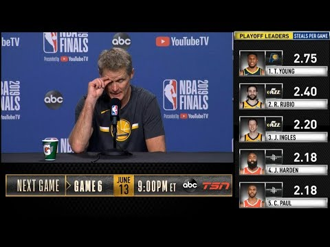 Steve Kerr postgame reaction | Warriors vs Raptors Game 5 | 2019 NBA Finals