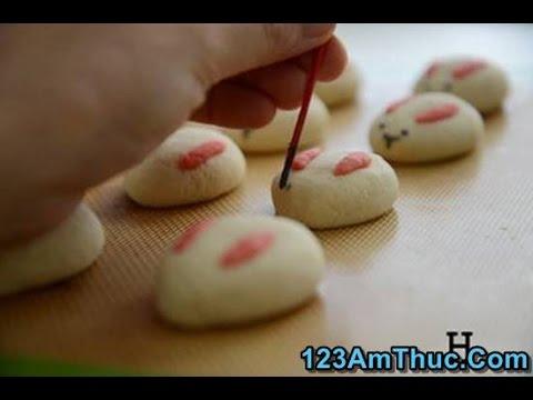 Hướng dẫn các mẹ cách làm bánh bao hình thỏ hấp dẫn bé yêu