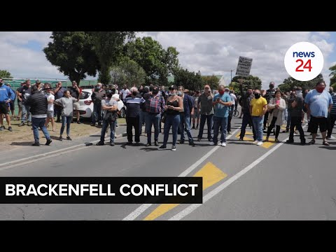 WATCH   Brackenfell residents say everyone was invited to the event, EFF causing unwarranted tension