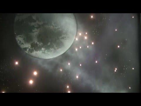 Zestaw Planetoidy, gwieździste niebo w sufitach, malowanie i montaż sufitów