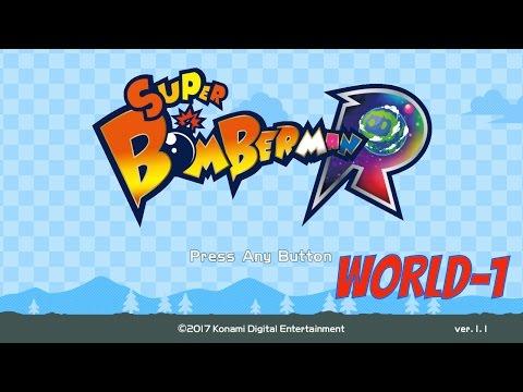 SUPER BOMBERMAN R WORLD 1