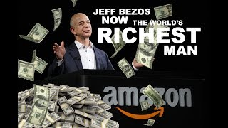 Jeff Bezos is now the richest person in the world, with a fortune of more than $90 billion. The Amazon CEO took the title previously ...