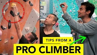 6 Climbing Tips Taught by a Pro Climber - Paul Robinson by  rockentry