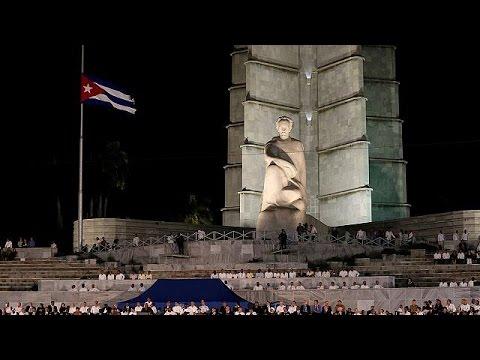 Κούβα: Πλήθος κόσμου στην κεντρική εκδήλωση στη μνήμη του Φιντέλ Κάστρο