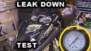 6. Leak Down Test or Decay Test on MXZ REV 600