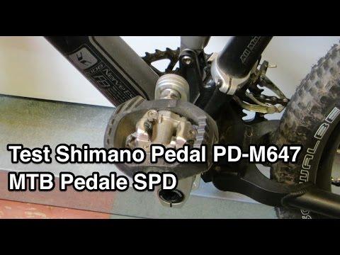 Test Shimano PD-M647 MTB Pedale SPD Pedal | Klickpedale Test | MTB Pedale Test | Klickpedale MTB