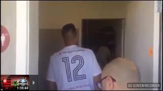 Diego Alves conhecendo o CT