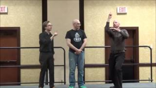ASL Improv: Interpreter Game with Wink, Austin Andrews, and Crom