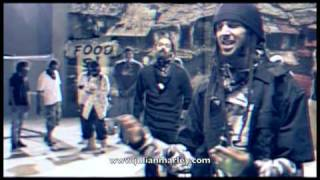 Julian Marley - Violence In The Streets (ft. Damian Marley & Stephen Marley) (Official Video)