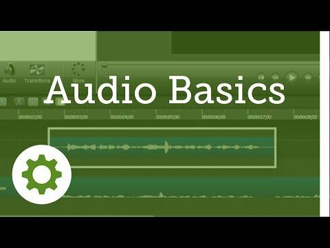 Camtasia Studio 8: Audio - Audio Basics