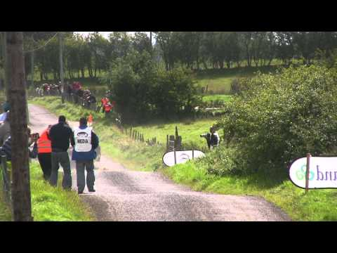 Subaru Crash - Big jumps - Ulster Rally 2010