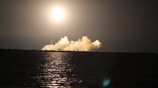 Press Site View - SpaceX Falcon 9 Blasts Off With Dragon CRS-5