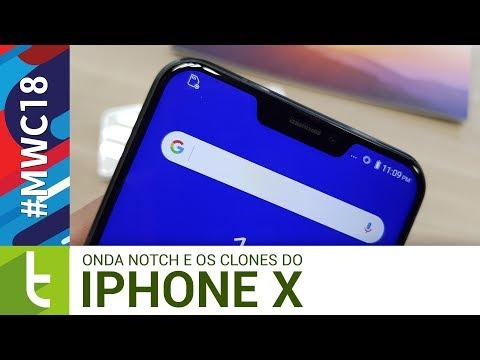 Tudocelular - Cópia do iPhone X ou tendência? Aparelhos com notch anunciados na #MWC18