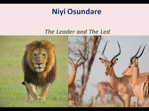 The Leader and The Led by Niyi Osundare