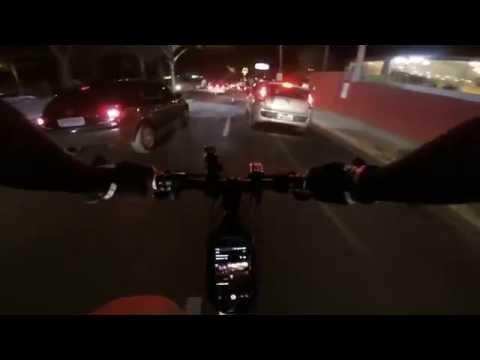 Pedal noturno em Vinhedo.