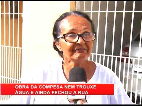 [RONDA GERAL] Moradores de Olinda ficam sem água após obra da Compesa
