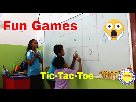 Tic Tac Toe || Classroom Games || Party Games || Fun Games || Parlour Games