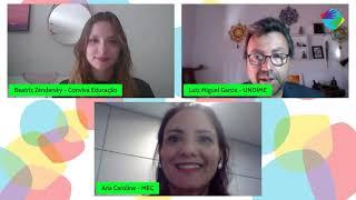 Videoconferência sobre o programa Educação Conectada
