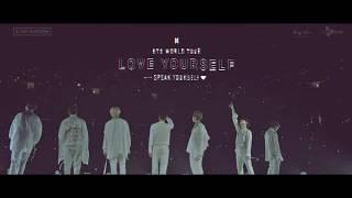 BTS (방탄소년단) WORLD TOUR 'LOVE YOURSELF: SPEAK YOURSELF' SPOT